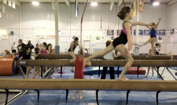 erie stars and stripes gymnastics meet 2012 jeep