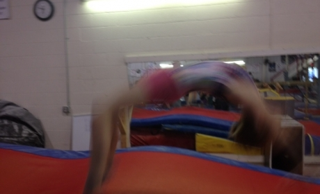 Slide for Recreational Tumbling & Trampoline